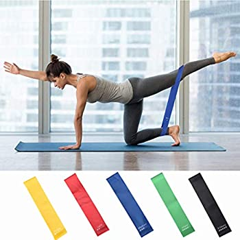 Limm Resistance Bands Exercise Loops 12-inch Workout Flexbands for Physical Th