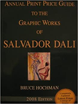 2017 print price guide to the graphic works of salvador dali.