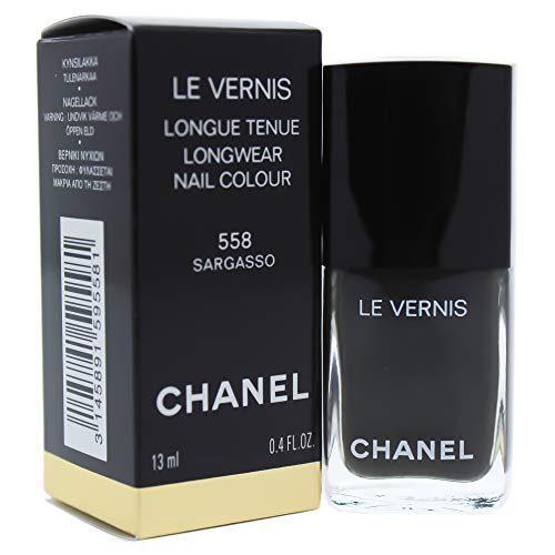 Chanel Le Vernis Longwear Nail Colour - 558 Sargasso By Chanel for Women - 0.4 Oz Nail Polish, 0.4 Ounce
