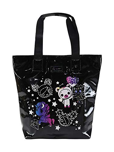 Tokidoki Galactic Dreams Shiny Vinyl Tote Bag Purse