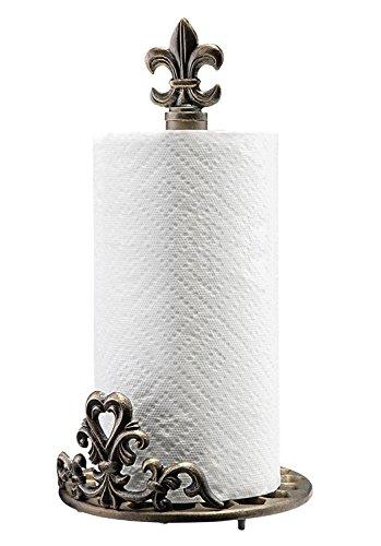 Fleur de Lis Paper Towel Holder (Lis Paper Fleur Holder De Towel)