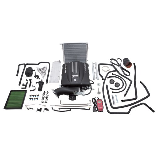 Edelbrock 1578 E-Force Supercharger Kit for GM Truck and SUV GMT900 with Chassis Gen IV Cathedral Port 4.8L/5.3L/6.0L Engines primary