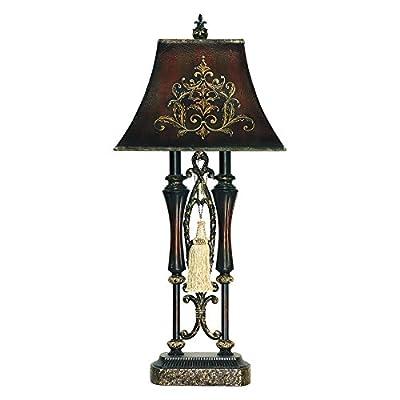 Elk Lighting 91-383 Double Tassel Iron Table Lamp