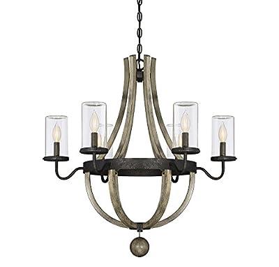 Savoy House Eden 6-Light Outdoor Chandelier in Weathervane 1-2100-6-70