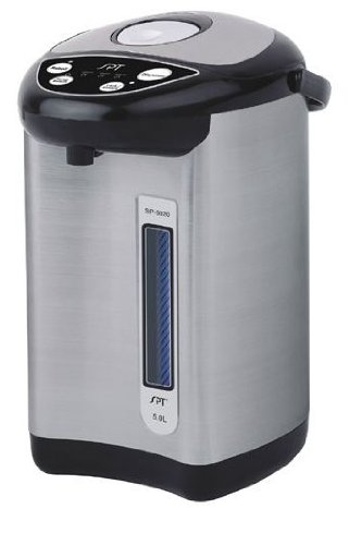 Sunpentown 5.0 Liter Hot Water Dispenser with Multi-Temp Function, Stainless Steel