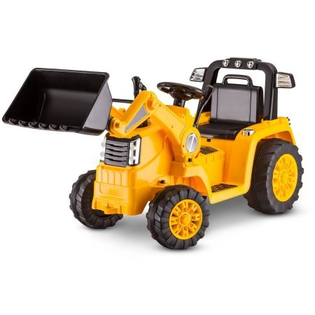 Kidtrax CAT Bulldozer/Tractor 6V Battery Powered Ride-On, Yellow by Essential Products