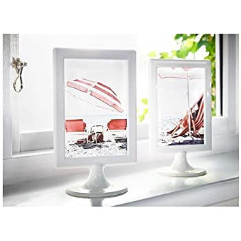 this item ikea photo frames white tolsby 4 x 6 4 pack each frame holds 2 pictures