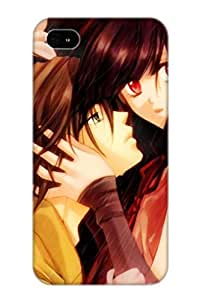 Case Cover Protector Specially Made For Iphone 4/4s Anime Unknown Rain Fall Love Anime