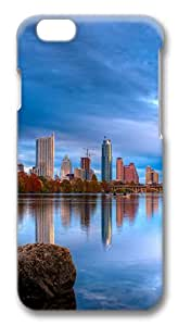 iphone 6 4.7inch Case City reflection PC Hard Plastic Case for iphone 6 4.7inch