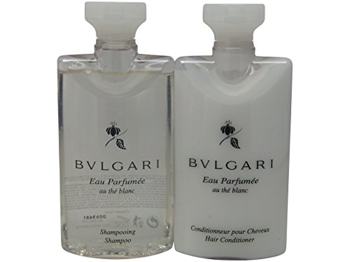 Bvlgari White Tea (Bvlgari White Tea au the blanc Shampoo & Conditioner. Lot of 6(3 of each) Total of 15oz.)