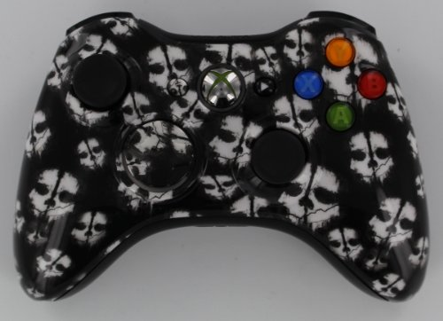 Xbox 360 Modded Controller COD GHOST White 18 Mods + FREE Case, Rapid Fire , Jump Shot, Drop Shot, Quick Scope