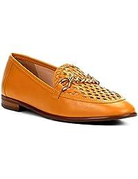 Mocassim Couro Shoestock Tressê Feminino