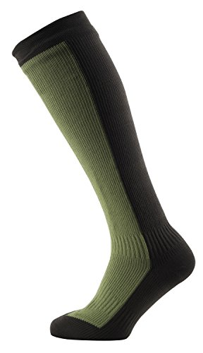 SEALSKINZ 100% Waterproof Sock - Windproof & Breathable - Knee Length Sock, Suitable for Walking, Camping, Hiking in Cold Conditions (Knee Socks Length)