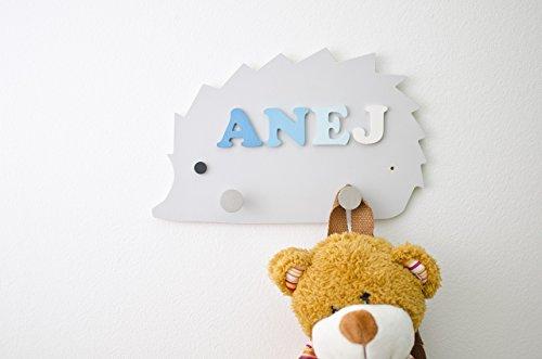Personalized Hedgehog shaped Kids Peg Ra - Personalized Peg Rack Shopping Results