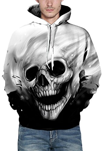 squelette à shirt Sweat de Animal Emilyle capuche animal pour hommes AU65gxq
