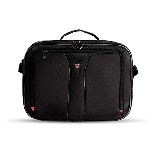 SWISSGEAR Jasper Expandable Organizer 15-inch Laptop Case | TSA-Friendly Carry-on | Travel, Work, School | Men