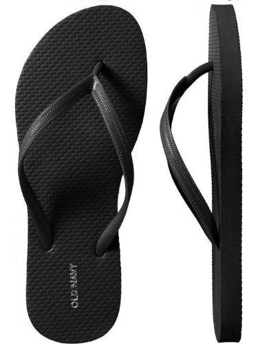 4c49088fe26 Amazon.com   Old Navy Flip Flops for Women Size 8   Black   Everything Else