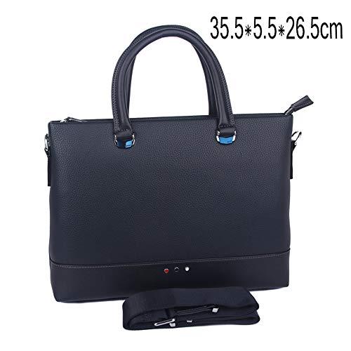 Korean Men's Business de Bolsa Ocio Maletín de Hombres Transversal Mensajero los sección de Handbag Bag Bolsa de ZQ de Cuero dFIZ5qd