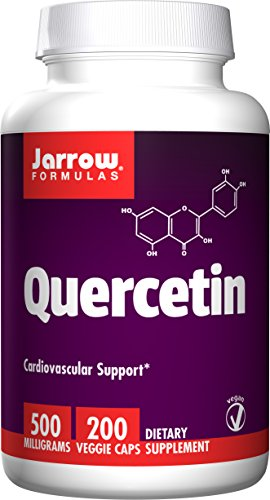 Jarrow Formulas Quercetin, For Cardiovascular Support, 500mg, 200 Capsules