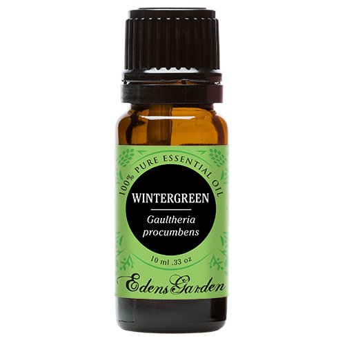 Percent Toothpaste 10 (Edens Garden Wintergreen 10 ml 100% Pure Undiluted Therapeutic Grade Essential Oil GC/MS Tested)