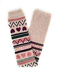 Women's Winter Wool Leg Warmers Over Knee Footless Boot Socks 1602