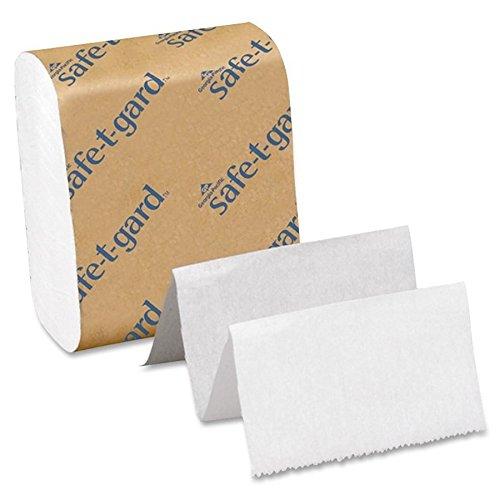 Georgia Pacific 10440 Tissue for Safe-T-Gard Dispenser, 200/Pack, 40 Packs/Carton