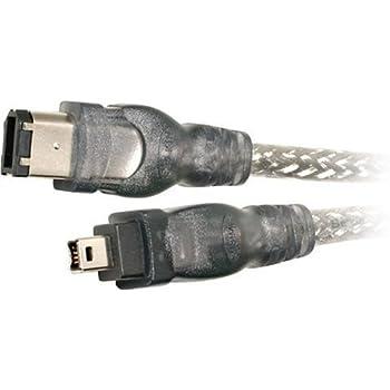 Belkin IEEE 1394 4-Pin/6-Pin 400 Mbps FireWire Cable (6 Feet)