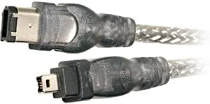 13 Ft 24k 6P to 6P FIREWIRE IEEE1394 Cable 6P6P Firewire Cable IEEE 1394a 400 Mbps Firewire Cable