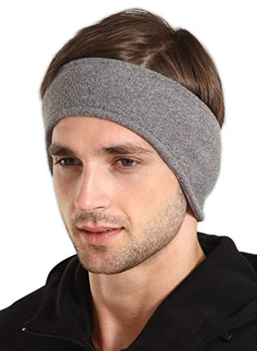 (IGN1TE Fleece Ear Warmers Headband/Ear Muffs for Men & Women - Stay Warm & Cozy with Our Thermal Polar Fleece & Performance Stretch. Perfect for Sports & Daily Wear)