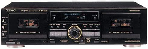 B00001OPJW Teac W790R Dual Auto-Reverse Cassette Deck with Pitch Control (Discontinued by Manufacturer) 413H7KQV19L.