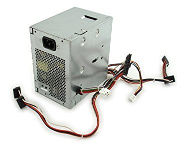 Genuine Dell K340R, 9RD1W 255W Power Supply PSU For Optiplex 980 Small Mini Tower SMT Systems Compatible Part Numbers: K340R, 9RD1W, Compatible Model Numbers: L255EM-01, F255E-00 ()