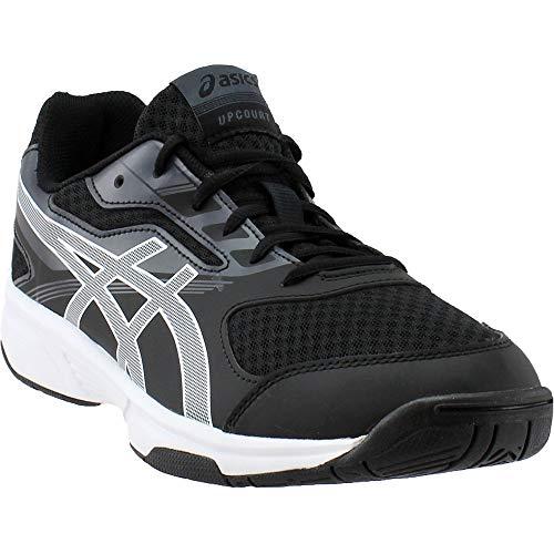 ASICS Mens Upcourt 2 Volleyball Shoe Black/White/Phantom 10 Medium US