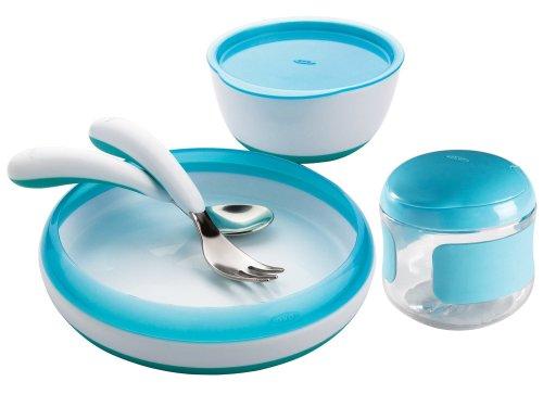OXO Tot Feeding Snack Aqua