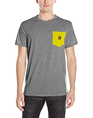 Men's Yarek Short Sleeve Contrast Pocket T-Shirt