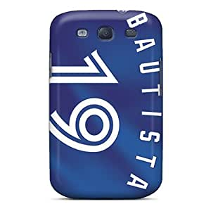 Perfect Hard Cell-phone Case For Samsung Galaxy S3 With Support Your Personal Customized Stylish Toronto Blue Jays Skin PhilHolmes