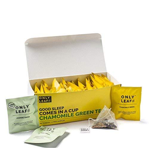 Only leaf Chamomile Green Tea, (27 Tea Bags)