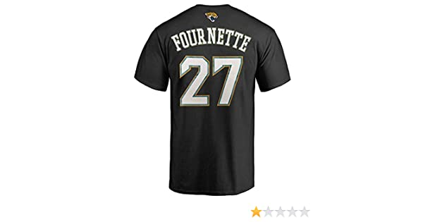199c9cc6a Amazon.com   Outerstuff Leonard Fournette Jacksonville Jaguars  27 Black  Youth Performance Name   Number T Shirt   Sports   Outdoors