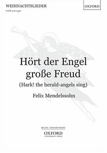 Hoert der Engel grosse Freud (Hark! the herald-angels sing): Vocal score (German Edition) PDF