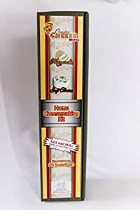 Fromage à pâte molle, Paneer et Mozarella Cheese Making Kit combinés