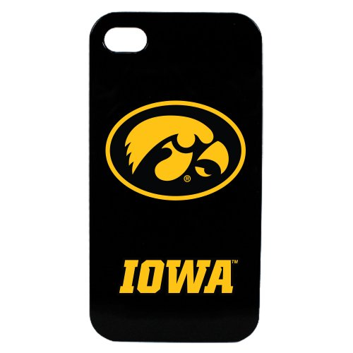 Guard Dog Iowa Hawkeyes - Case for iPhone 4 / 4s - Black (Iowa Hawkeyes Iphone 4 Case)