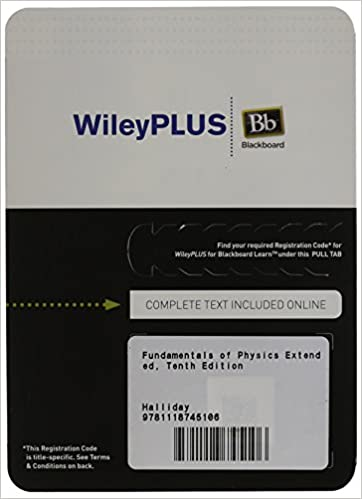 Amazon fundamentals of physics extended tenth edition fundamentals of physics extended tenth edition wileyplus blackboard card 10th edition fandeluxe Image collections