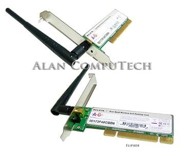 HP 391866 002 Belkin Wireless LAN Americas 80211a B G PCI Card