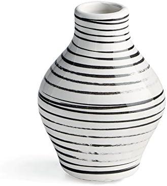 Amazon Com Napa Home Garden Enzo 4 Striped Vase Home Kitchen