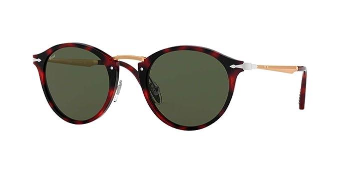 Persol 0PO3166S Gafas de sol, Red Grid, 51 para Hombre ...