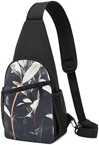ボディ肩掛け 斜め掛け 植物 ショルダーバッグ ワンショルダーバッグ メンズ 軽量 大容量 多機能レジャーバックパック