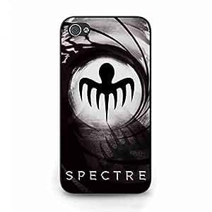 Cool Spectre 007 Funda,007 Spectre Funda Black Hard Plastic Case Cover For Iphone 4