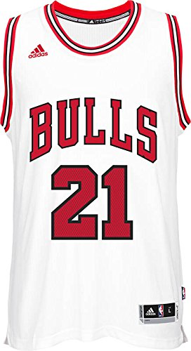 adidas Jimmy Butler Chicago Bulls Swingman White Jersey XL by adidas
