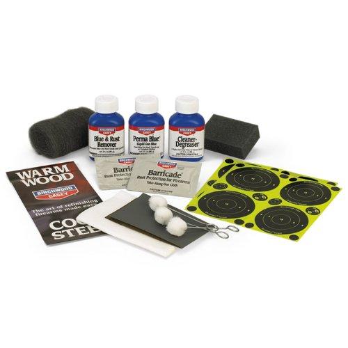 Birchwood Casey Liquid Gun Blue Kit, Outdoor Stuffs