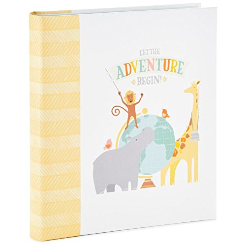 Let the Adventure Begin Baby Memory Book Photo Albums