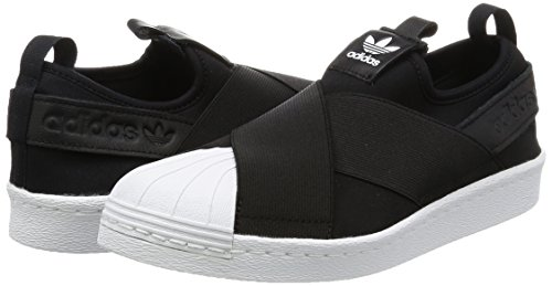 Slip Chaussures Pour Femme W Blanc Adidas Superstar Gymnastique On Noir De 4Z1y6F4